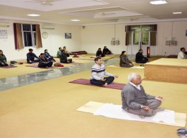Group Yoga Session